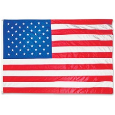 AVT MBE002220 Advantus Heavyweight Nylon Outdoor U.S. Flag AVTMBE002220