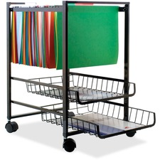 Advantus 34075 Mobile File Cart