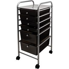 AVT 34005 Advantus 6-drawer Rolling Organizer AVT34005