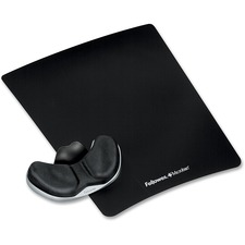 FEL 9180301 Fellowes Mouse Pad Palm Support FEL9180301