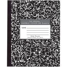 ROA 77332 Roaring Spring Wide Ruled 36-sheet Compositn Book ROA77332