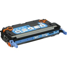 V7 Cyan Toner Cartridge for HP Color LaserJet 3600 Printer