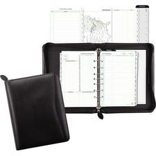 DTM 41745 Day-Timer Bonded Leather Zip Planner Starter Set DTM41745