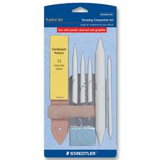 STD 9991DBK9 Staedtler Sandpaper Pointer Drawing Companion Set STD9991DBK9