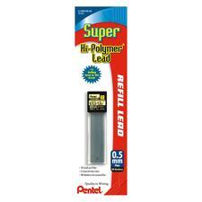 PEN C15BPHBK6 Pentel Super Hi-Polymer .5MM Lead PENC15BPHBK6