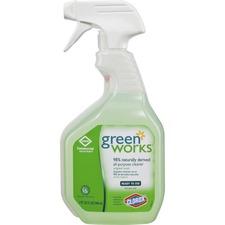 Green Works All-Purpose Cleaner - Spray - 0.25 gal (32 fl oz) - 1 Each - Green