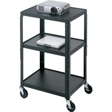 Bretford Basics Adjustable Projector Cart A2642NS