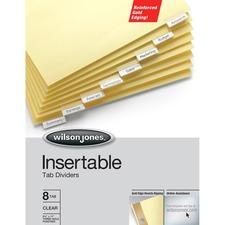 WLJ 54131 Acco/Wilson Jones Gold Line Insertable Indexes WLJ54131