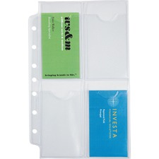 Day-Timer 68359 Business Card Album Refill