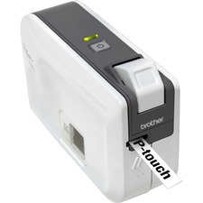 Brother P-touch PT-1230PC Thermal Transfer Printer - Monochrome - Label Print