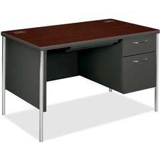 HON Mentor Series Pedestal Desk