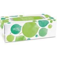 SEV 13712 Seventh Gen. 2-ply Facial Tissue Flat Box SEV13712