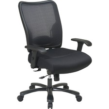 OSP 7537A773 Office Star Executive Mesh Big & Tall Chair OSP7537A773