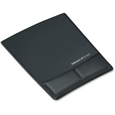FEL 9180901 Fellowes Microban Mouse Pad/Wrist Support FEL9180901