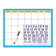 TEP T27802 Trend Reusable Calendar Wipe-off Kit TEPT27802