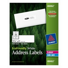 AVE 48462 Avery Eco-friendly Mailing Labels AVE48462
