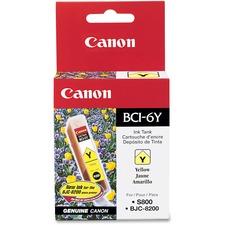CNM BCI6Y Canon BCI6BK/C/M/Y/G/R Color Ink Tanks CNMBCI6Y