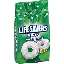 Life Savers Wint O Green Mints Bag - 3 lb. 2 oz. - Wint-O-Green, Mint - 3.12 lb - 1 Bag