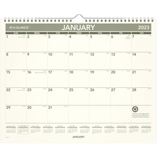 AAG PMG7728 At-A-Glance Recycled Monthly Wall Calendar AAGPMG7728