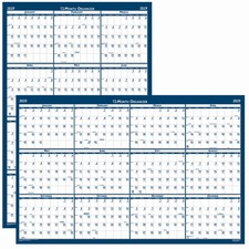 HOD 396 Doolittle Classic Reversible WifeOff Wall Calender HOD396