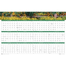 HOD 394 Doolittle Earthscapes Laminated Wall Planners HOD394