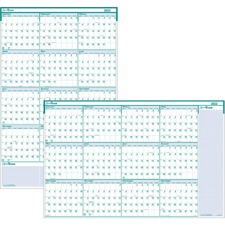 HOD 392 Doolittle Express Track Yearly Laminated Planner HOD392