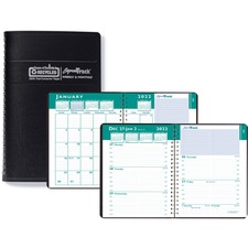 HOD 29402 House of Doolittle Express Track Weekly Appointment Book/Monthly Planner HOD29402