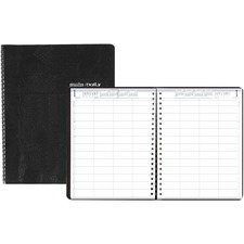 HOD 28102 House of Doolittle Eight-Person Group Practice Daily Appointment Book HOD28102