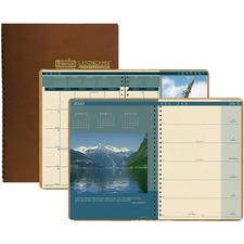 HOD 528 Doolittle Landscapes Photo Wkly/Mthly Planner HOD528