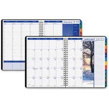 HOD 273 Doolittle Earthscapes Tabbed Wkly/Mthly Planner HOD273