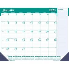 HOD 148 Doolittle ExpressTrack Desk Pad Calendar HOD148