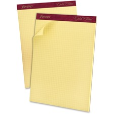 ESS 22143 Ampad Gold Fibre Canary Quadrille Pads ESS22143