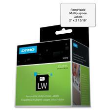 DYM 30370 Dymo Removable Multipurpose LabelWriter Labels DYM30370