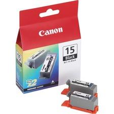 CNM BCI15BK Canon BCI15BK Ink Tank Cartridges CNMBCI15BK