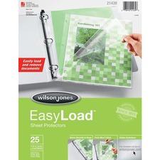 WLJ 21439 Acco/Wilson Jones EasyLoad Poly Sheet Protectors WLJ21439