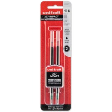 SAN 65808PP Uni-ball Gel Impact Rollerball Pen Refills