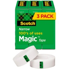 MMM 810H3 3M Scotch Invisible Magic Tape MMM810H3