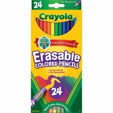 CYO 682424 Crayola Erasable Colored Pencils  CYO682424