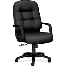 HON 2091NT19T HON 2090 Series Pillow-Soft Exec. High-back Chairs HON2091NT19T