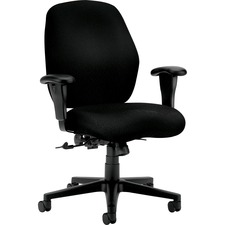 HON 7823NT10T HON 7800 Srs Mid-back Posture Control Task Chairs HON7823NT10T
