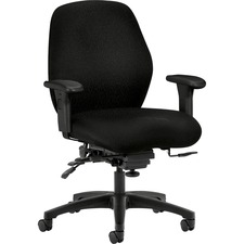 HON 7828NT10T HON 7800 Srs Seat Glide Mid-back Task Chairs  HON7828NT10T