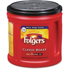 Folgers Classic Roast Coffee Ground - FOL 00367EA