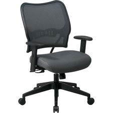 OSP 13V44N1WA Office Star Professional VeraFlex Fabric Chair OSP13V44N1WA
