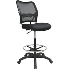 OSP 1337N20D Office Star AirGrid Back Mesh Seat Drafting Chair OSP1337N20D