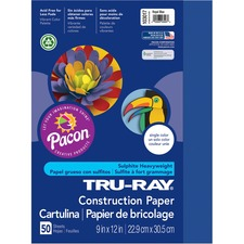 PAC 103017 Pacon Tru-Ray Heavyweight Construction Paper PAC103017