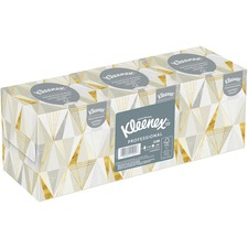 Kleenex Boutique Tissue Bundle - White - Soft, Absorbent - 95 Sheets - 3 / Pack