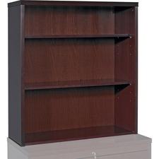 LLR 87818 Lorell Sao Paulo Mahogany Stack-on Bookcase LLR87818