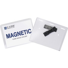 CLI 92943 C-Line Magnetic Name Badge Holder Kit CLI92943