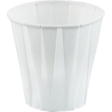 Solo Cup 3.5 oz. Paper Cups - 3.50 fl oz - 100 / Pack - White - Paper