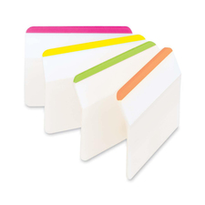 "MMM 686A1BB 3M Post-it Durable 2"" Angled File Tabs MMM686A1BB"